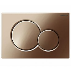 Geberit Sigma01 Dual Flush Plate, Special Brass