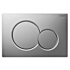 Geberit Sigma01 Dual Flush Plate - Gloss/Matt Chrome