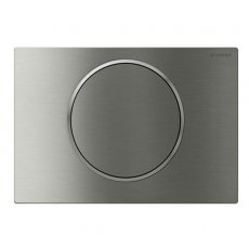 Geberit Sigma10 Mains Operated Touchless and Anti Vandal Flush Plate for Cistern - Brushed Steel