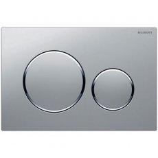 Geberit Sigma20 Dual Flush Plate - Matt Chrome