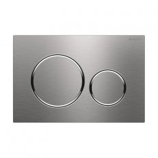 Geberit Sigma20 Dual Flush Screwable Plate - Stainless Steel/Brush/Polish