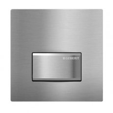 Geberit Sigma 50 Hytouch Hand Operated Pneumatic Urinal Flushing Control - Brushed Chrome