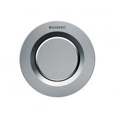 Geberit Type 01 Single Flush Plate Button for 80mm Concealed Cistern - Matt Chrome