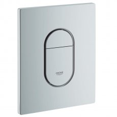Grohe Arena Cosmopolitan Dual Flush Plate - Matt Chrome