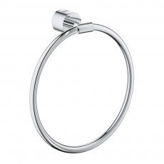 Grohe Atrio Round Towel Ring - Chrome