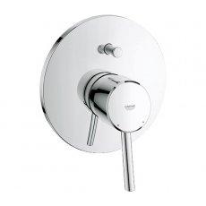 Grohe Concetto Concealed Shower Valve & Diverter Trim, Chrome