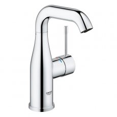 Grohe Essence M-Size Basin Mixer Tap with Swivel Spout - Chrome