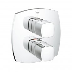 Grohe Grandera Dual Concealed Thermostatic Shower Mixer Trim Only - Chrome