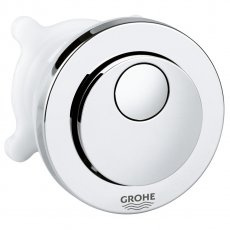 Grohe Circle Dual Flush Push Button Actuation with Eco Button - Chrome