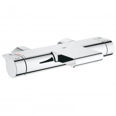 Grohe Grohtherm 2000 Thermostatic New Bath Shower Mixer Tap S-Unions Wall Mounted - Chrome
