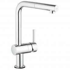 Grohe Minta Touch Electronic Single Lever Kitchen Sink Mixer Tap with Pull-out Spout - Chrome