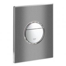 Grohe Nova Dual Button Flush Plate, Printed Graphic