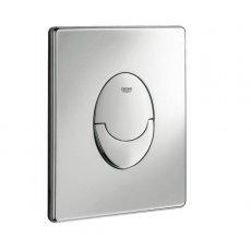 Grohe Skate Air Dual Button Flush Plate, Portrait, Chrome