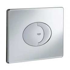 Grohe Skate Air Dual Button Flush Plate, Landscape, Chrome
