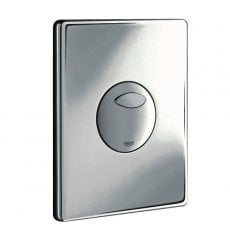 Grohe Skate Dual Button Flush Plate for AV1, RealSteel