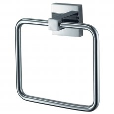 Haceka Mezzo Towel Ring Holder - Chrome
