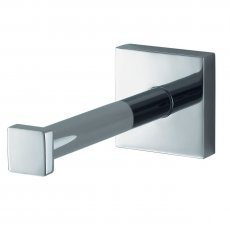 Haceka Mezzo Spare Toilet Roll Holder, Chrome