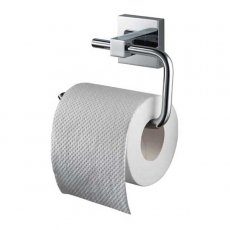 Haceka Mezzo Toilet Roll Hold with Lid Chrome