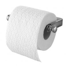 Haceka Vintage Small Toilet Roll Holder - Silver
