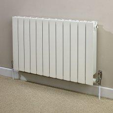 Heatwave Hanworth Horizontal Designer Aluminium Radiator 590mm H x 828mm W - 10 Sections