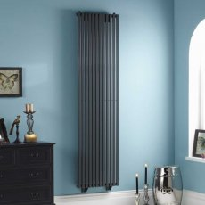 Heatwave Oxfordshire Vertical Designer Radiator 1800mm H x 465mm W - White