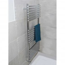 Heatwave Oxfordshire Designer Heated Towel Rail 750mm H x 500mm W - Anthracite