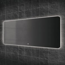 HiB Ambience 140 Steam Free LED Bathroom Mirror 600mm H x 1400mm W