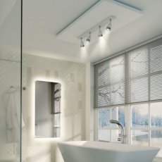 HiB Ambience 120 Steam Free Bathroom Mirror 600mm H x 1200mm W
