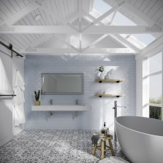 HiB Georgia 120 Designer Bathroom Mirror 600mm H x 1200mm W