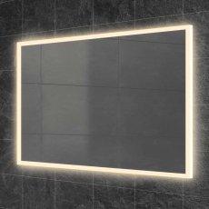 HiB Globe 90 Steam Free LED Bathroom Mirror 900mm H x 600mm W