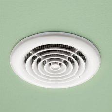 HiB Turbo Inline Bathroom Non Illuminate White Fan 145mm Diameter