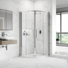 Hudson Reed Apex Quadrant Shower Enclosure 1000mm x 1000mm - 8mm Glass