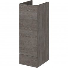 Hudson Reed Fitted Base Unit with 1 Drawer 300mm Wide - Brown Grey Avola