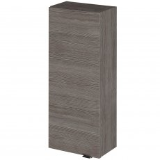 Hudson Reed Fitted Wall Unit 300mm Wide - Brown Grey Avola
