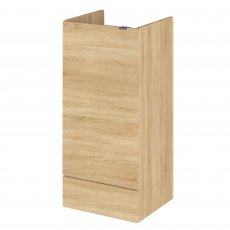 Hudson Reed Fusion Furniture Fitted Base Unit 400mm Wide - Natural Oak