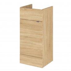 Hudson Reed Fusion Furniture Vanity Unit 400mm Wide - Natural Oak