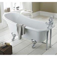 Hudson Reed Kensington Freestanding Slipper Bath 1500mm x 730mm - Corbel Leg Set