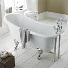 Hudson Reed Kensington Freestanding Slipper Bath 1700mm x 730mm - Corbel Leg Set
