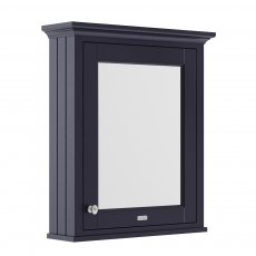 Hudson Reed Old London Mirrored Bathroom Cabinet 650mm Wide - Twilight Blue