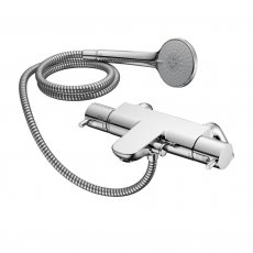 Ideal Standard Alto Ecotherm Shower Bar Valve with Rim Mounting Legs and Lever Handles Chrome