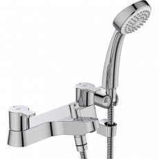 Ideal Standard Calista Dual Control Bath Shower Mixer with Shower Set - Chrome