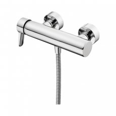 Ideal Standard Concept Blue Single Lever Wall Mounted Exposed Shower Bar Valve Bottom Outlet Chrome