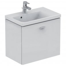 Ideal Standard Concept Space Wall Hung Vanity Unit with RH Basin 600mm Wide - Gloss White