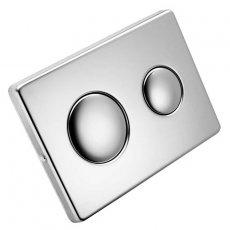 Ideal Standard Contemporary Dual Flush Plate - Chrome
