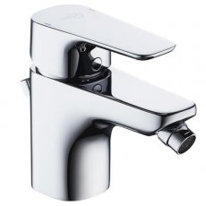 Ideal Standard Tempo Bidet Mixer Tap Chrome with Pop Up Waste