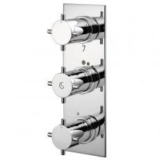 Ideal Standard Trevi Aposta TT Concealed Thermostatic Bath Shower Mixer Valve 3 Outlet - Chrome