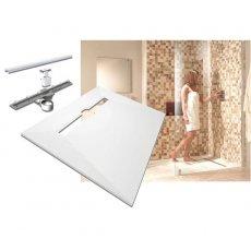 Impey Aqua-Dec Linear 4 Wet Room Former, 1600mm x 900mm, Linear Waste