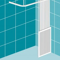Impey Elevate Option C Half Height Door 800mm Wide - Right Handed