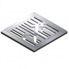 Impey Fiber Stainless Steel Tiled Floor Gully Grate