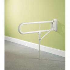 Impey Fold Down Rail 760mm with Leg Support
